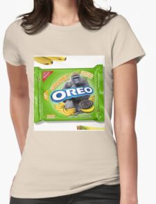 Oreo: Harambe Edition Womens Fitted T-Shirt