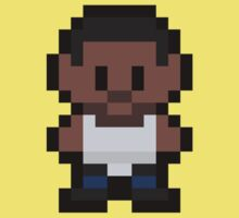 "Pixel Carl ""CJ"" Johnson One Piece - Short Sleeve"
