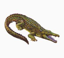 Vintage Crocodile by PatiDesigns