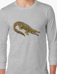 Vintage Crocodile Long Sleeve T-Shirt