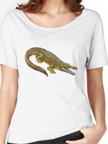 Vintage Crocodile Women's Relaxed Fit T-Shirt