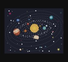 Planets of Solar System Kids Tee