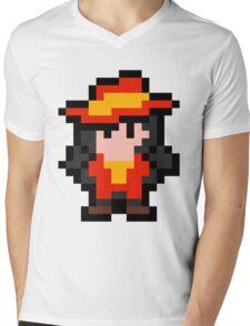 Pixel Carmen Sandiego Mens V-Neck T-Shirt