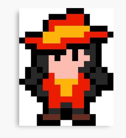Pixel Carmen Sandiego Canvas Print