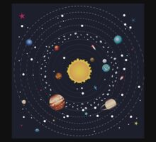 Planets of Solar System 2 Baby Tee