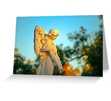Sentinel at Sunset Greeting Card