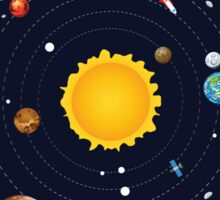 Planets of Solar System 2 Sticker