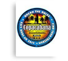 Get New Spirit Copacabana Spain Canvas Print
