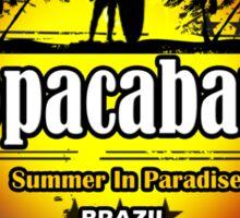 Get New Spirit Copacabana Spain Sticker