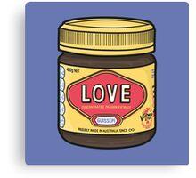 A Jar of Love Canvas Print