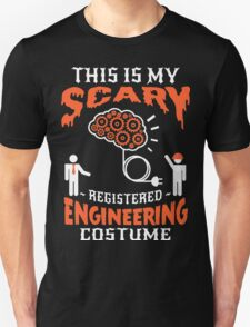 Brain scary Engineering Unisex T-Shirt