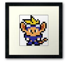 Pixel Sparkster Framed Print