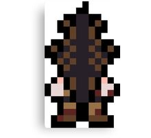 Pixel Pyramid Head Canvas Print