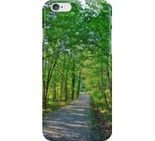 Green Tree Trail iPhone Case/Skin