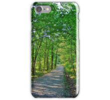 Green Tree Trail iPhone Case/Skin