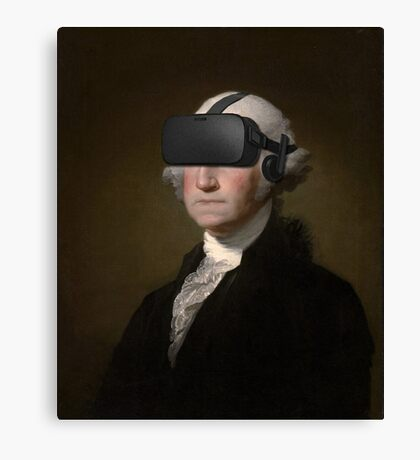 George Washington - Oculus Rift Canvas Print