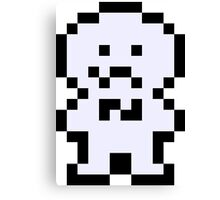 Pixel Chorus Kid Canvas Print