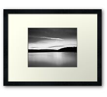 Lakeview to chill to  Framed Print