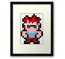 Pixel Axel Framed Print