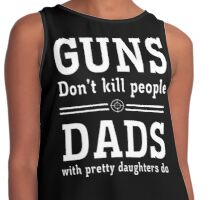 Guns Dad Contrast Tank
