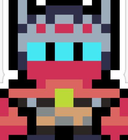 Pixel The Drifter Sticker