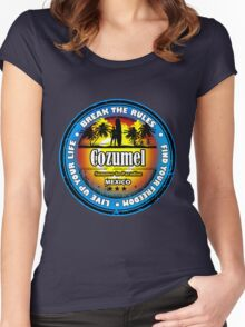 Love Paradise Cozumel Women's Fitted Scoop T-Shirt