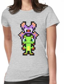 Pixel Yooka-Laylee Womens Fitted T-Shirt
