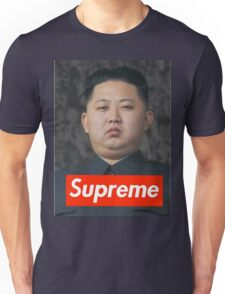Kim Jong Un Supreme Unisex T-Shirt