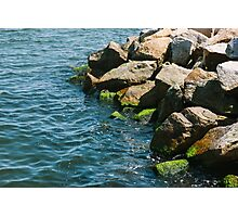 Sea Rocks Photographic Print