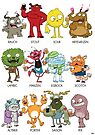Beer Monsters by striffle