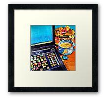 Coffee & Conversation Framed Print