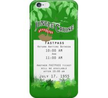 Jungle Cruise Fastpass iPhone Case/Skin