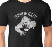 Inside Out T-shirt Wolfman Throw Out Unisex T-Shirt