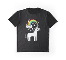 rainbow horse Graphic T-Shirt