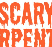 Scary Carpenter Costume Sticker