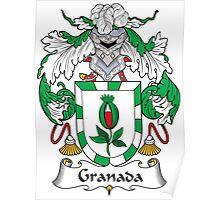 Granada Coat of Arms (Spanish) Poster