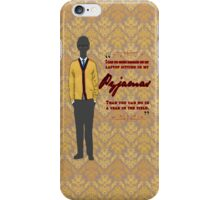 Q- Pyjamas iPhone Case/Skin