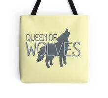 Queen of wolves Tote Bag