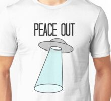 Peace Out, Earth Unisex T-Shirt