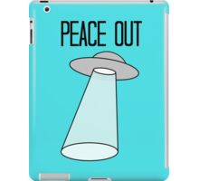Peace Out, Earth iPad Case/Skin