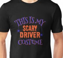 Scary Driver Costume Unisex T-Shirt