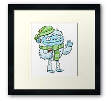 Eisbock Beer Monster Framed Print