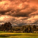 Angry sky by BigAndRed
