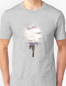 Spray Paint Sun Set  Unisex T-Shirt