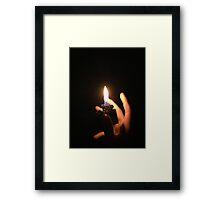 Zippo Lighter Framed Print