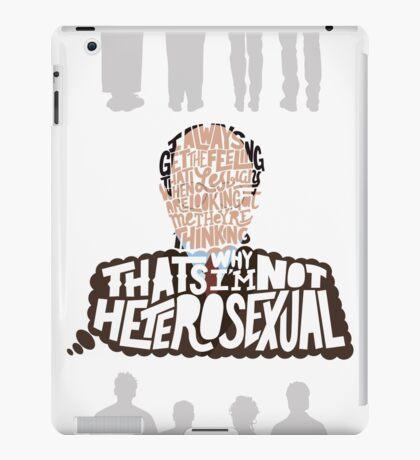 George Costanza on Lesbians iPad Case/Skin