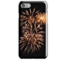 Three Fireworks Together iPhone Case/Skin