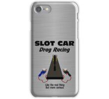 Slot Car Drag Racing iPhone Case/Skin