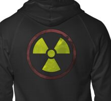 Radioactive Symbol version 2 Zipped Hoodie