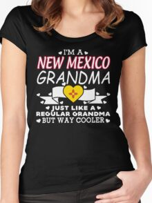 I'm a New mexico Grandma Women's Fitted Scoop T-Shirt